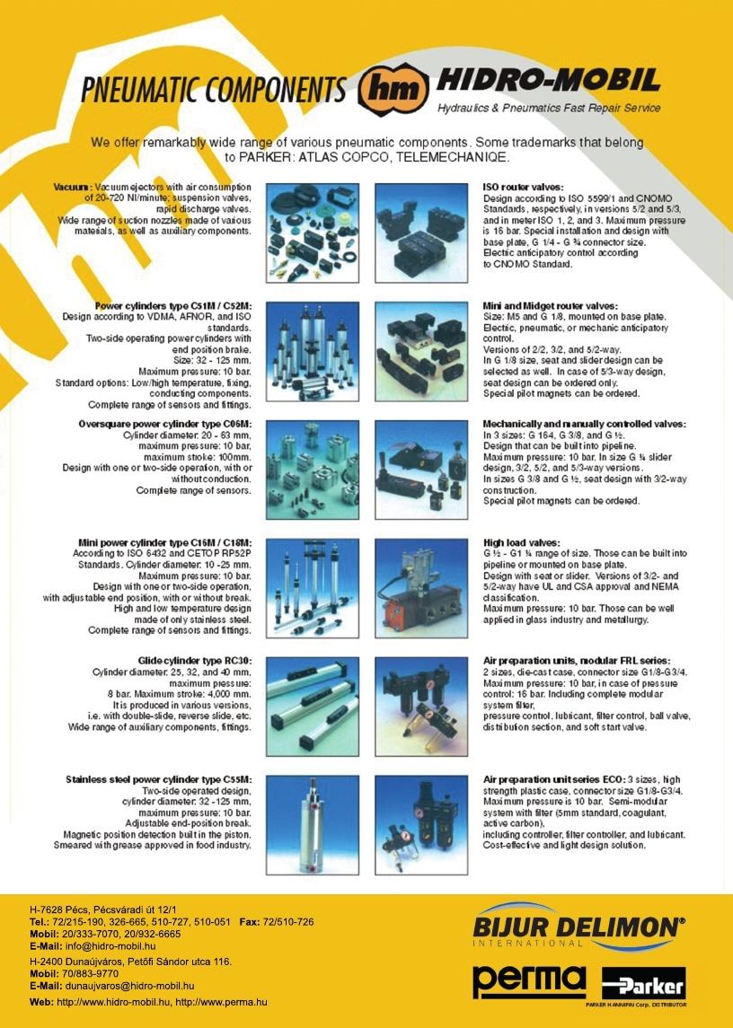 741893412 Hidro-Mobil Introduction - HIDRO-MOBIL a Hidraulika és Pneumatika ...